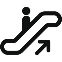 Symbole Escalator