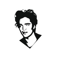 Vinilo Robert pattinson-vinilos-decorativos