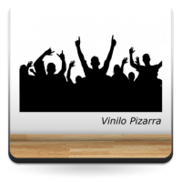 Vinilo Pizarra get up-vinilos-decorativos