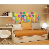 Vinilo Flower power-vinilos-decorativos