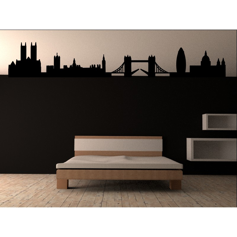 london skyline t te de lit. Black Bedroom Furniture Sets. Home Design Ideas